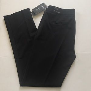 NWT Zac & Rachel slim leg black dress pants
